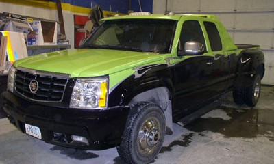Custom automotive boywork and paint in Eagle River, AK