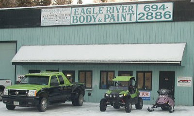 Autobody repair shop in Eagle River, AK
